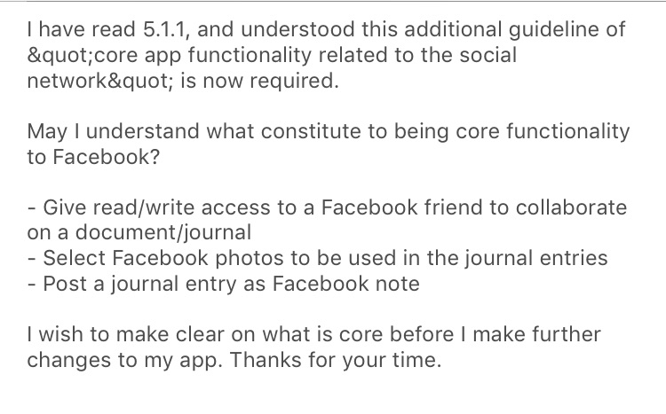 App Review Now Bans Facebook Single Sign-On